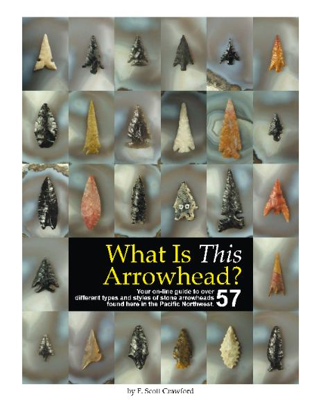 Back cover of What Is This Arrowhead? e-book by F. Scott Crawford